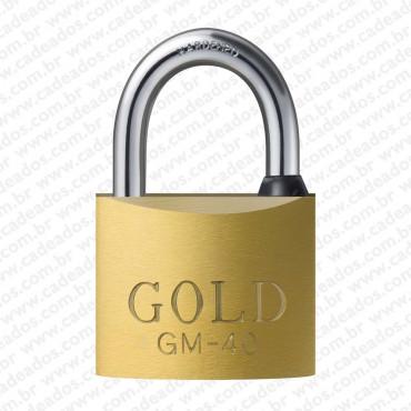 Cadeado Gold Chave Multi-Ponto 50 mm