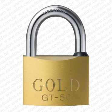Cadeado Gold Chave Tetra 50 mm