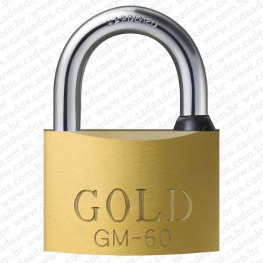 Cadeado Gold Chave Multi-Ponto 60 mm