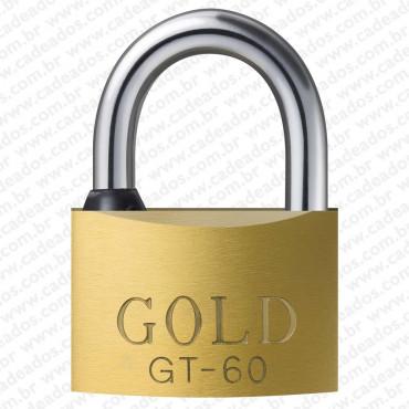 Cadeado Gold Chave Tetra 60 mm