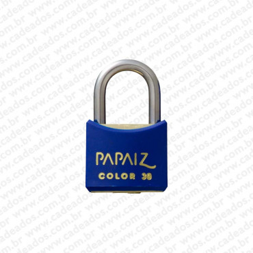Cadeado Papaiz Color Azul 30 mm