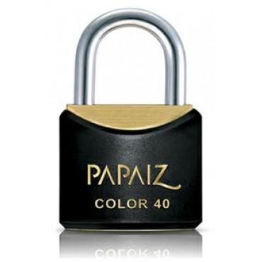 Cadeado Papaiz Color Preto 25 mm